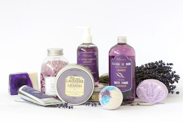 levandulové produkty