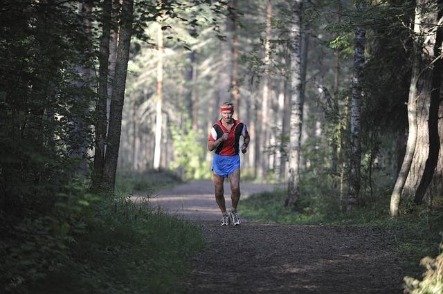 starší běžec