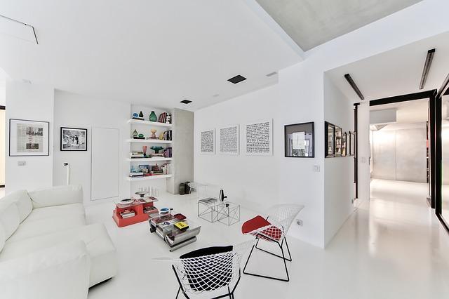 bílé místnosti