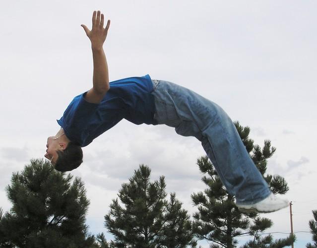 akrobatický skok