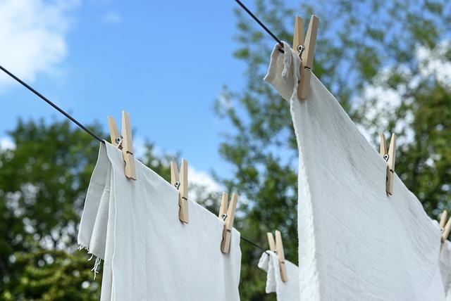 prádlo, kolíčky